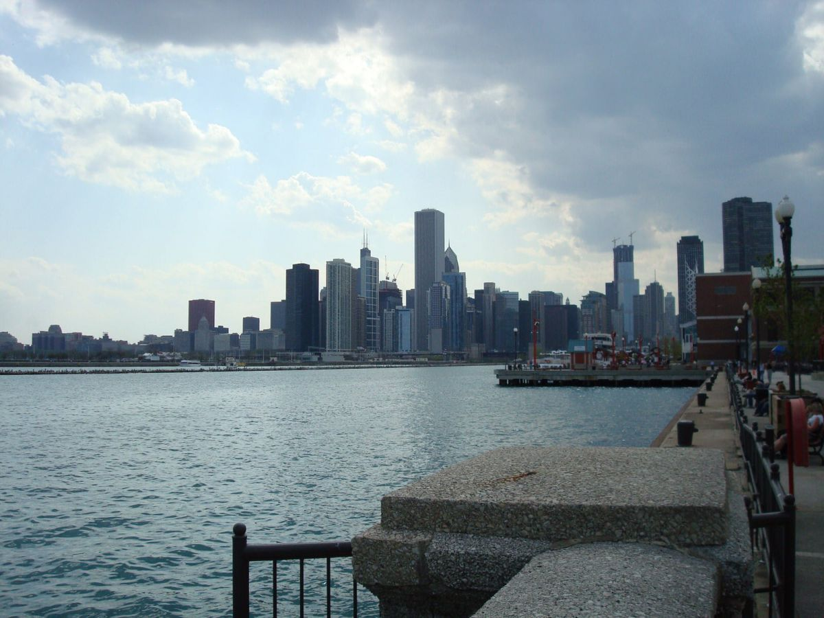 Chicago Skyline views from Navy Pier