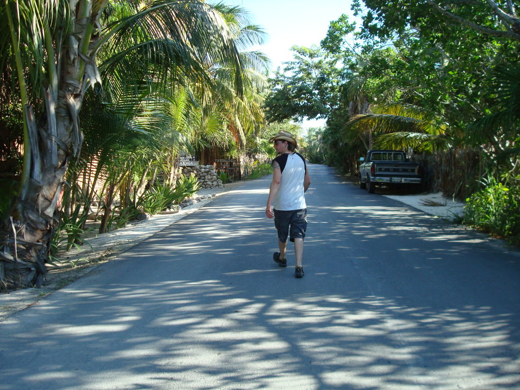 Boca Paila beach road Tulum