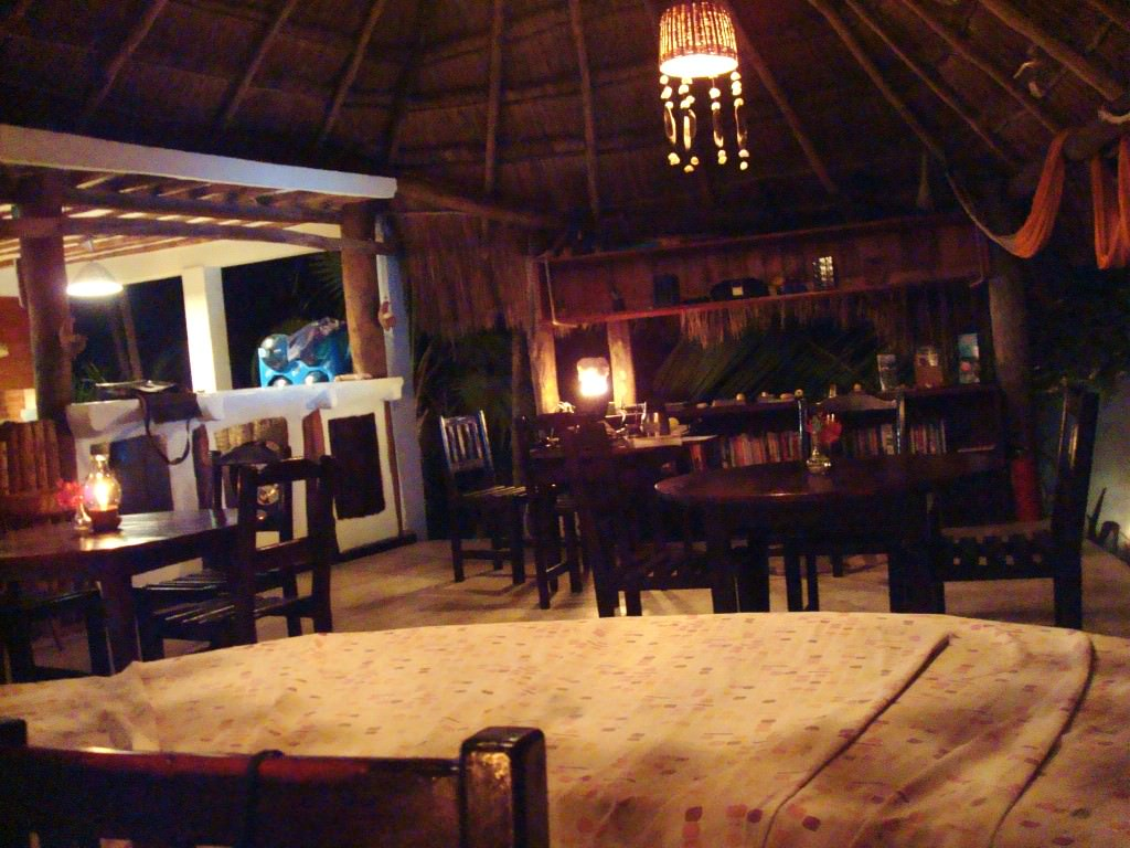 Tulum beach restaurant