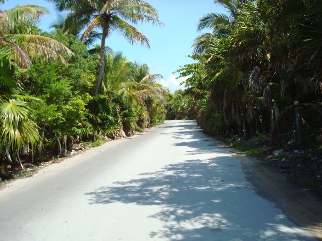 Boca Paila beach road, Tulum