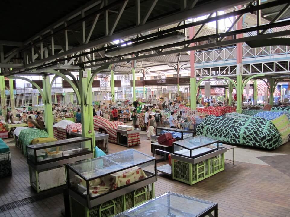 Papeete market, Tahiti