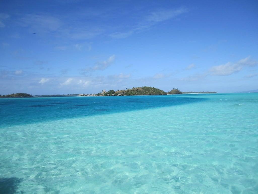 Intercontinental Le Moana Bora Bora lagoon Tahiti