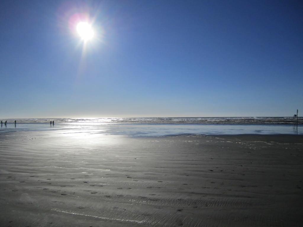 Ocean Shores, WA beach