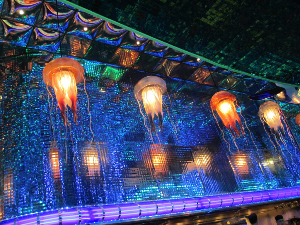 Jellyfish lights Oceano Reno Nevada
