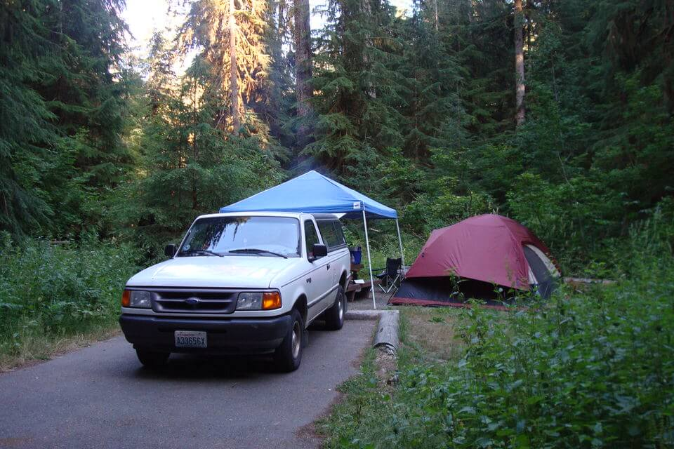 Sol Duc Campground, Olympic National Park
