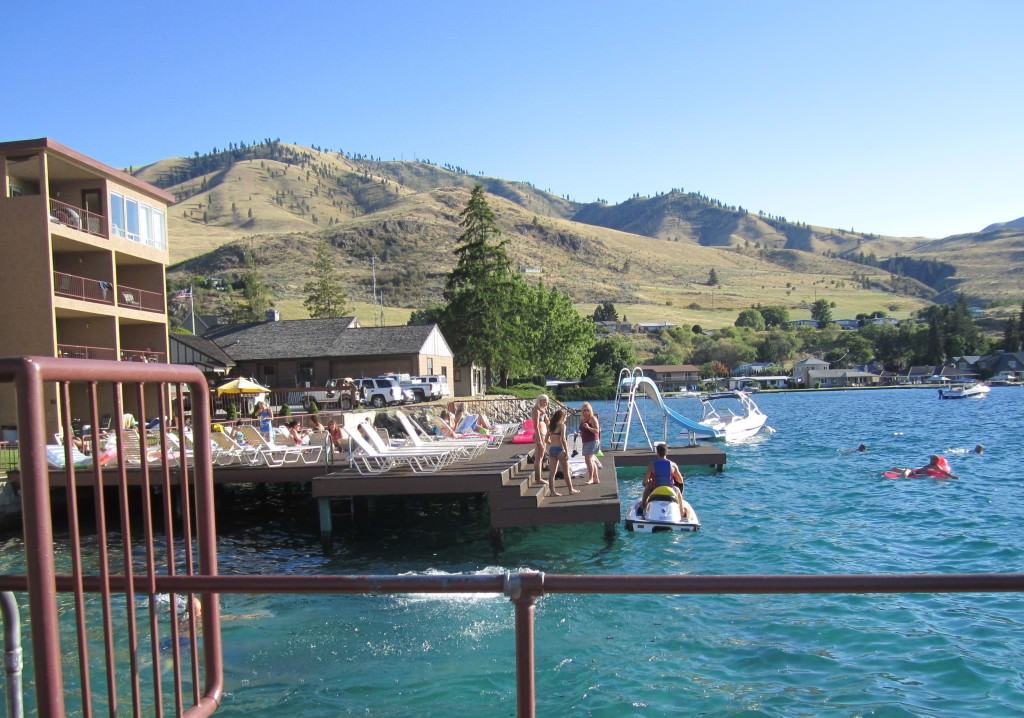 Grandview on the Lake Chelan waterslide