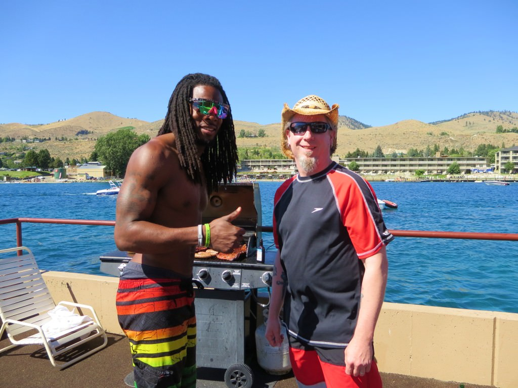 Richard Sherman Lake Chelan