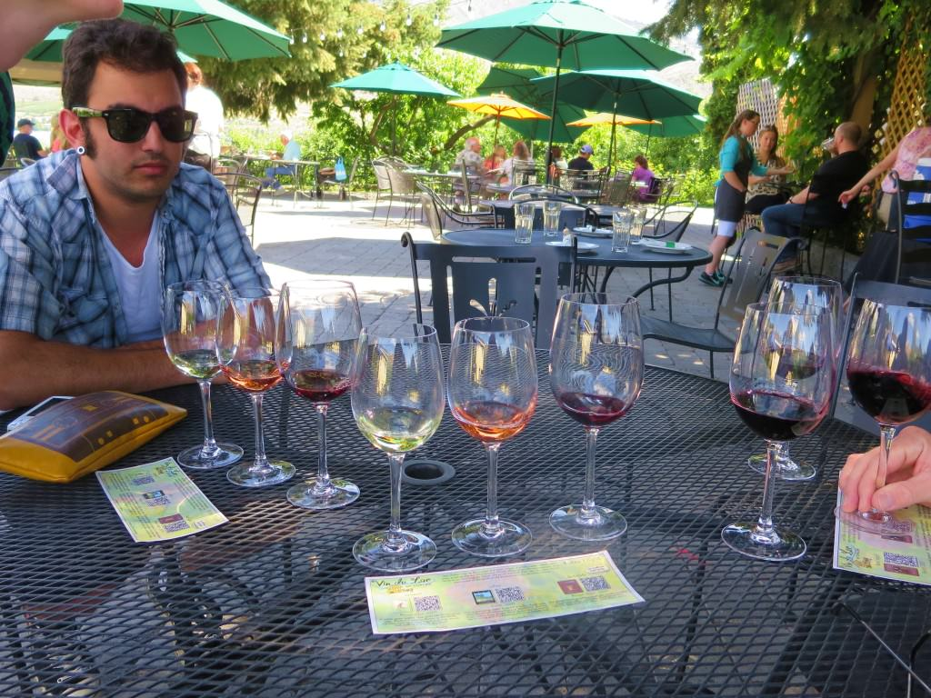 Vin du Lac winery chelan