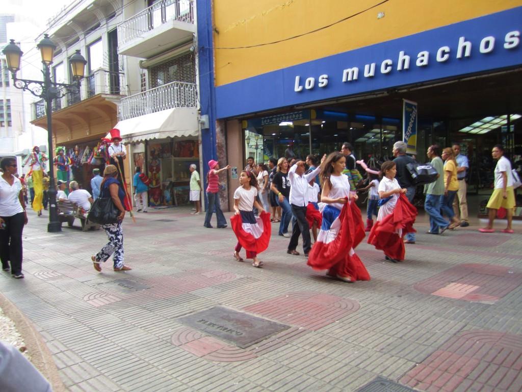 Parade Santo Domingo Domincan Republic 071