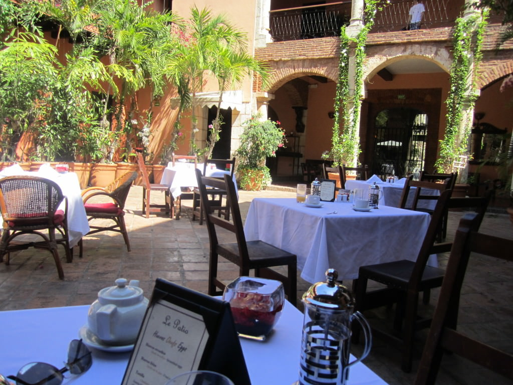 Hotel Frances breakfast Santo Domingo Domincan Republic 086