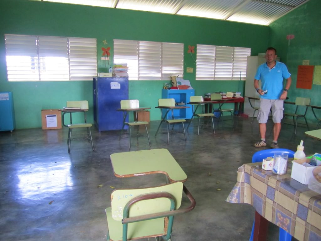 Rural school Dominican Republic