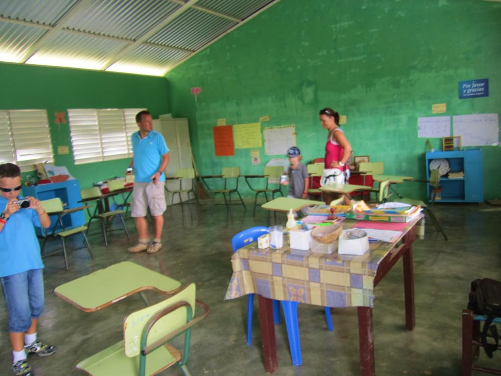 rural school Domincan Republic
