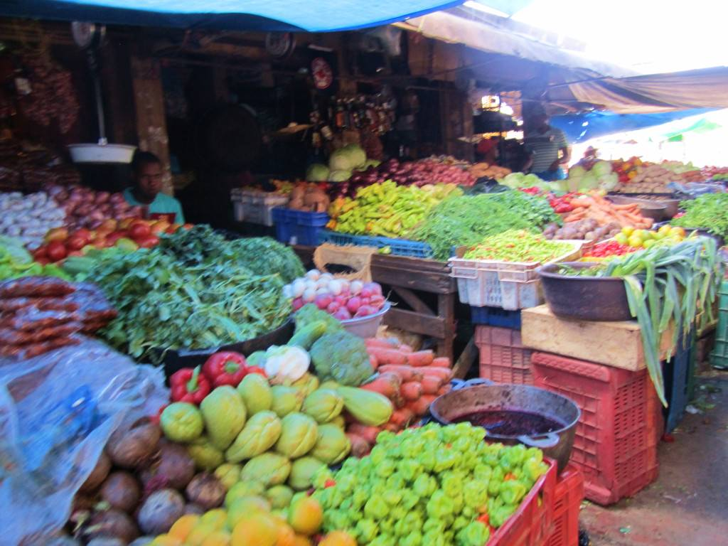 Market in Higuey Domincan Republic