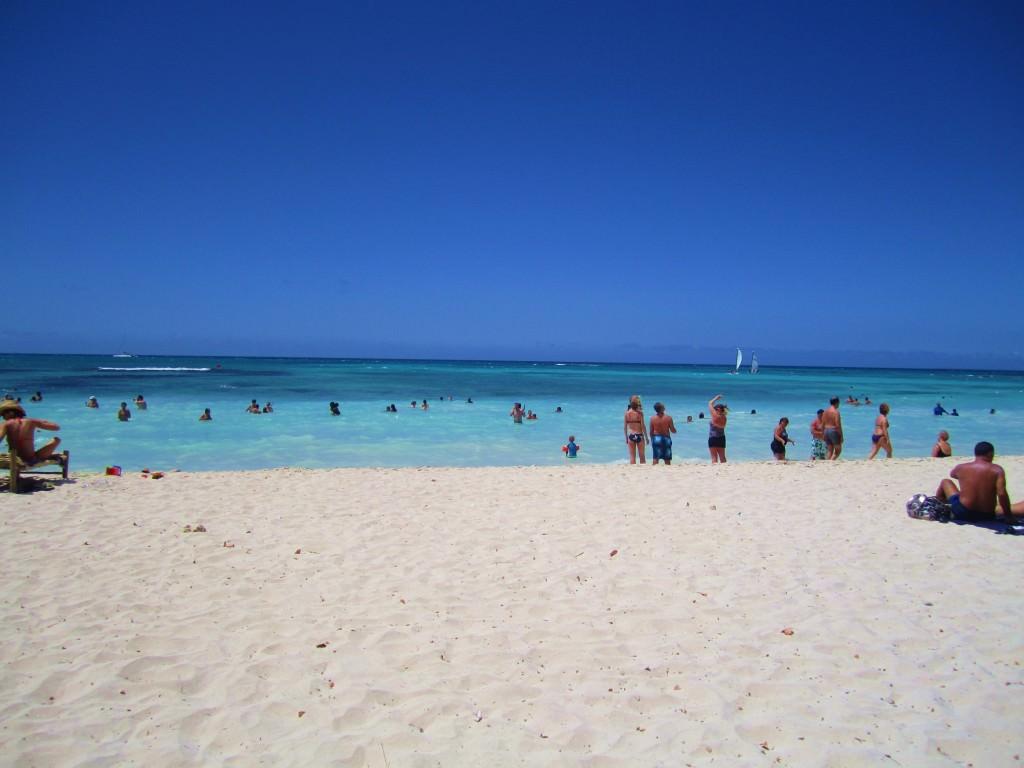Bayahibe public beach Domincan Republic 144