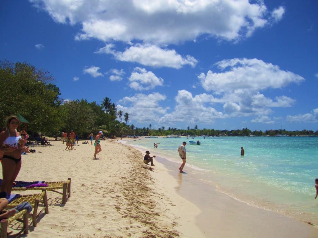 Bayahibe public beach Domincan Republic 146