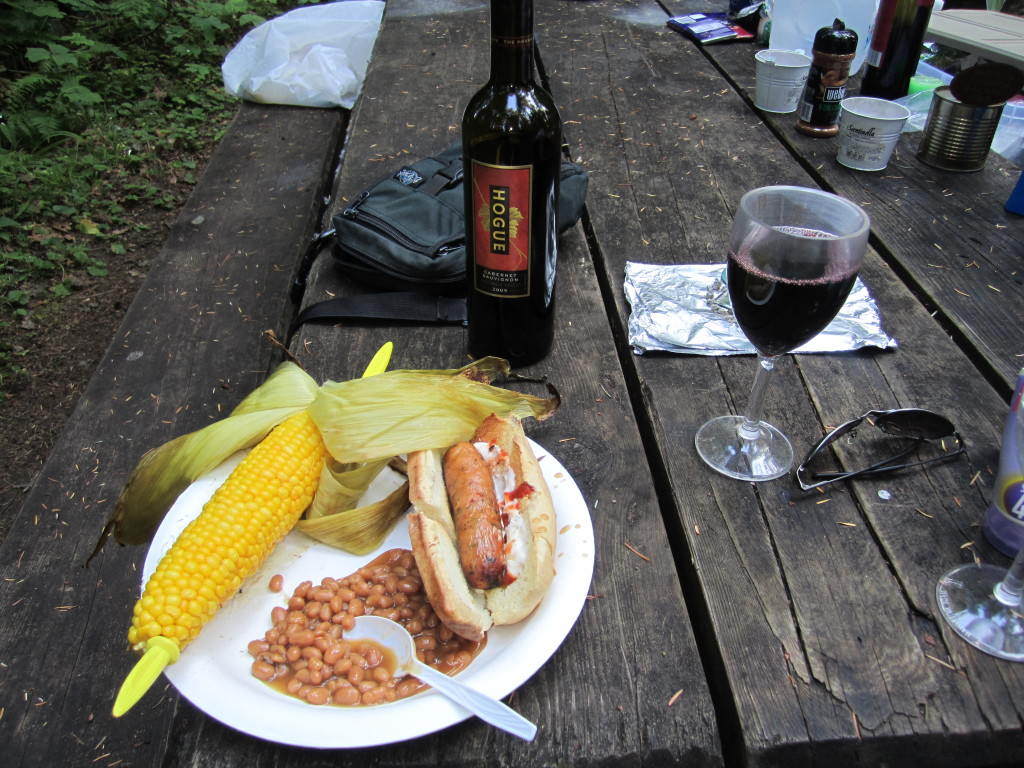 Mt Rainier camping food 041