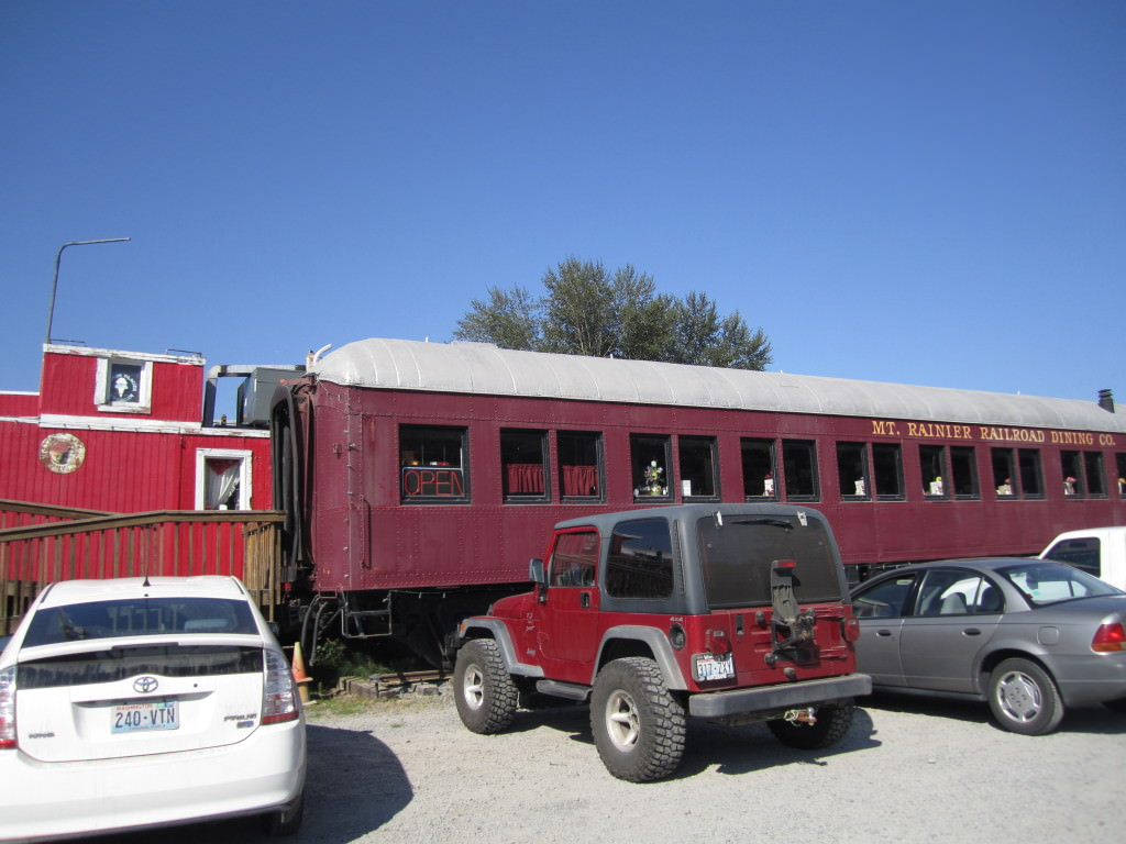 Mt Rainier Railroad Diner Elbe, WA