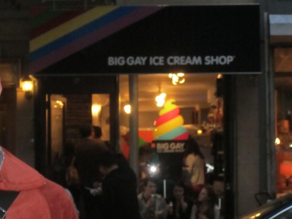 Big Gay Ice Cream Shop New York City