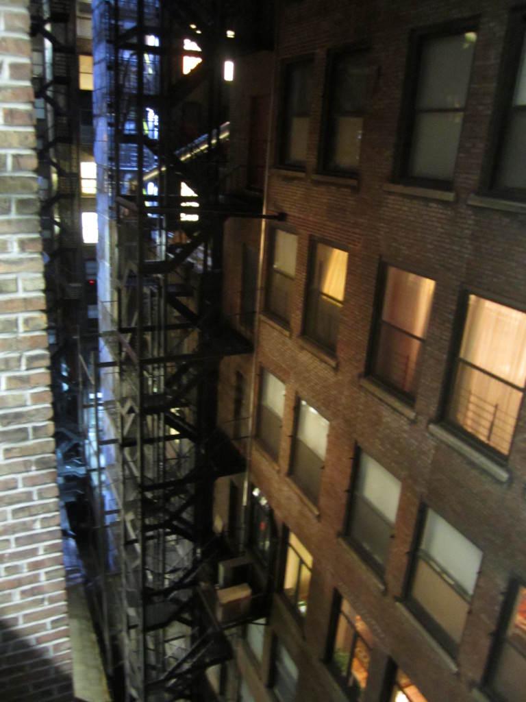 Fire escape New York City