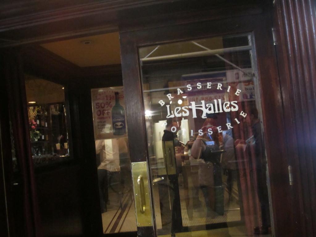 Dinner at Les Halles New York City