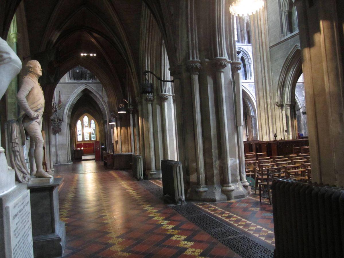 St Patricks cathedral dublin ireland