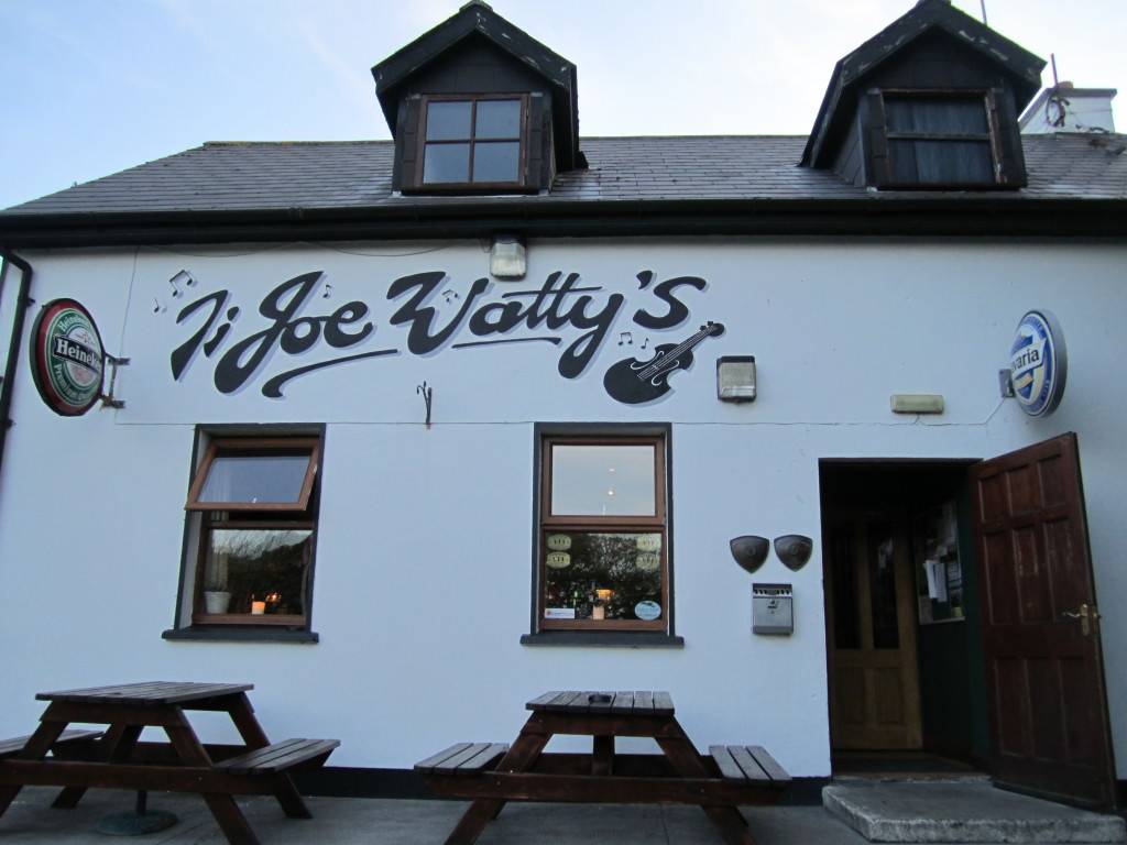 Joe Wattys pub Aran Islands Ireland