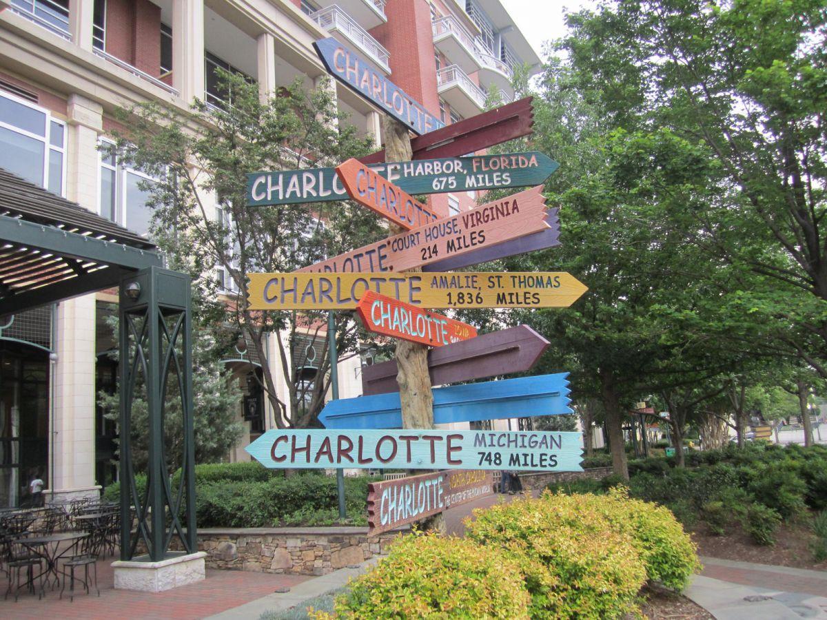 sculpture garden Charlotte North Carolina