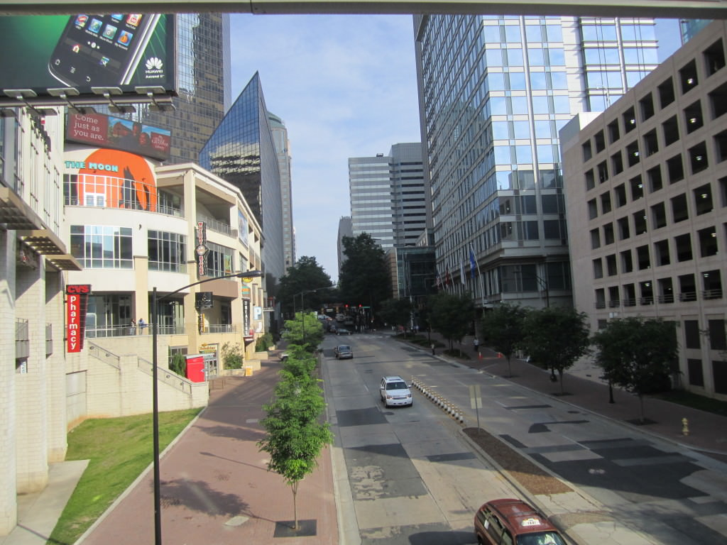 Charlotte North Carolina downtown