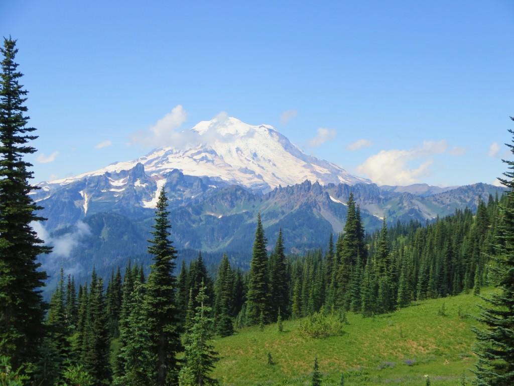 Naches Peak Trail Mt. Rainier