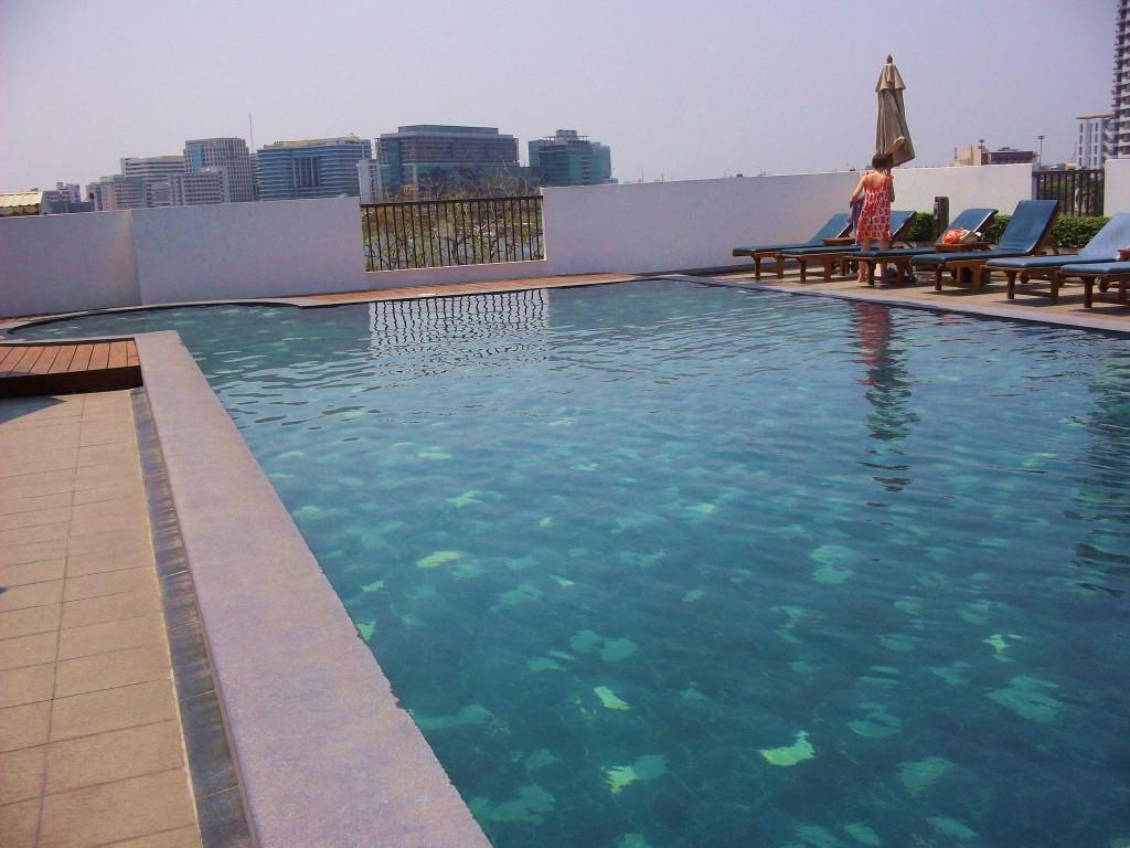 Navalai River Resort pool Thailand 008