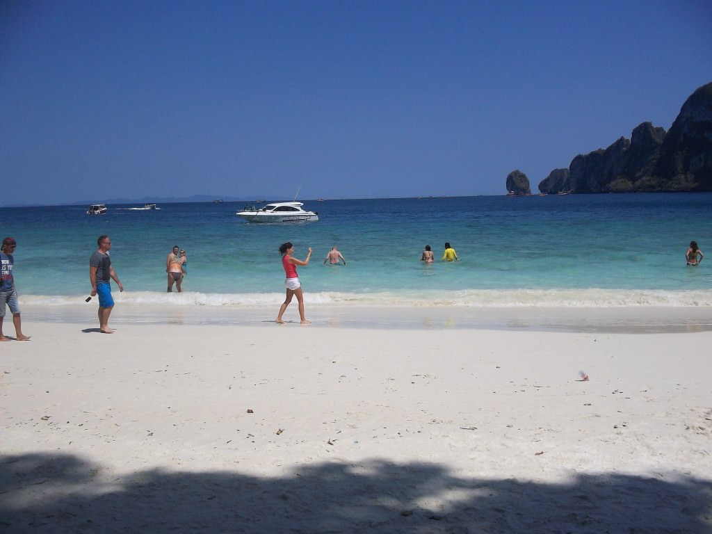 Monkey Beach, Koh Phi Phi Thailand 047
