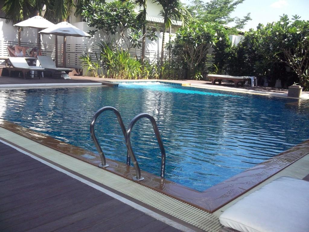 Dee Andaman Hotel pool Krabi Thailand