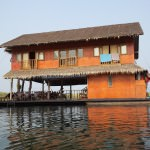 floating lake house safari Thailand