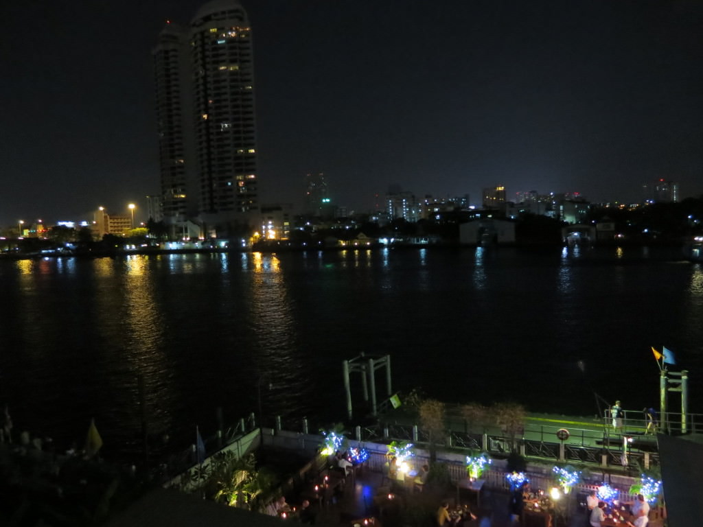 Navalai River Resort Bangkok night view Thailand 428