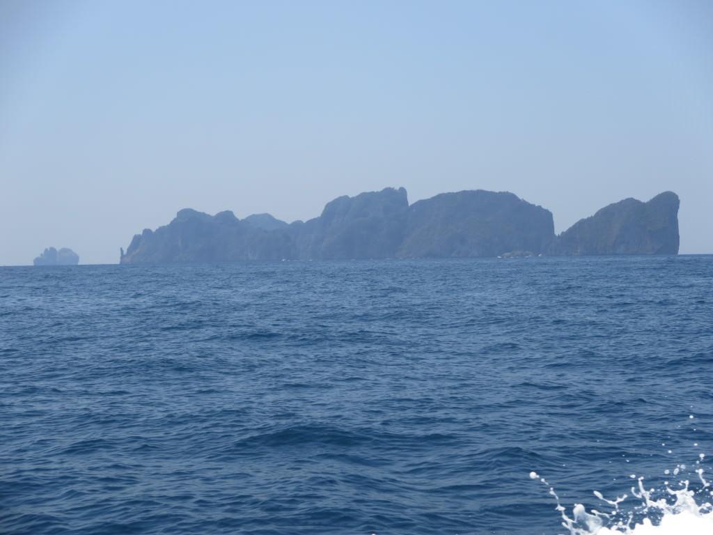 Phi Phi ferry ride Thailand