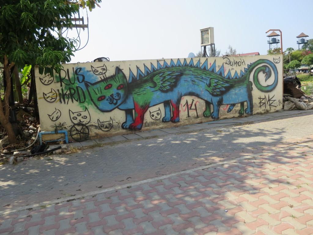 graffiti Phi Phi Don Thailand 435