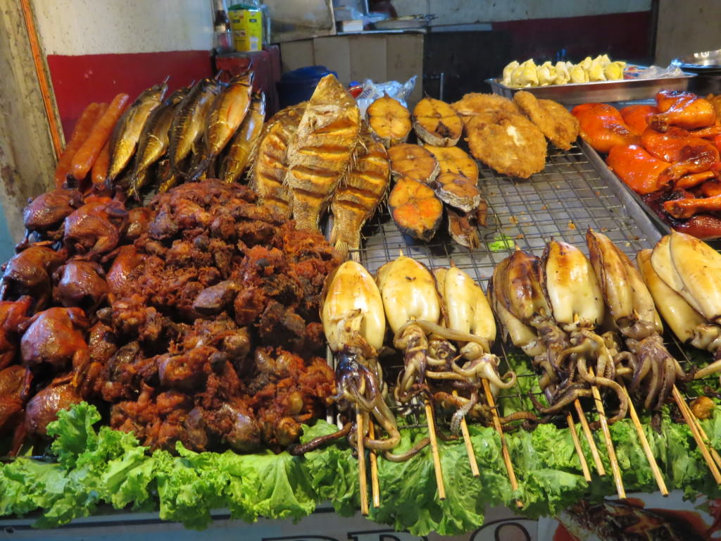 night market food stand Phi Phi Don Thailand 441