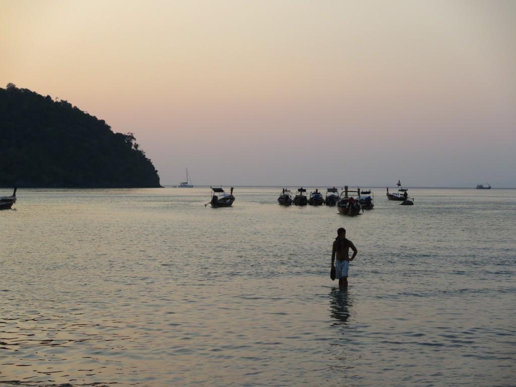 Loh Dalum Beach sunset Phi Ph Thailand 458