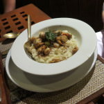 scallop risotto le grand bleu phi phi don Thailand