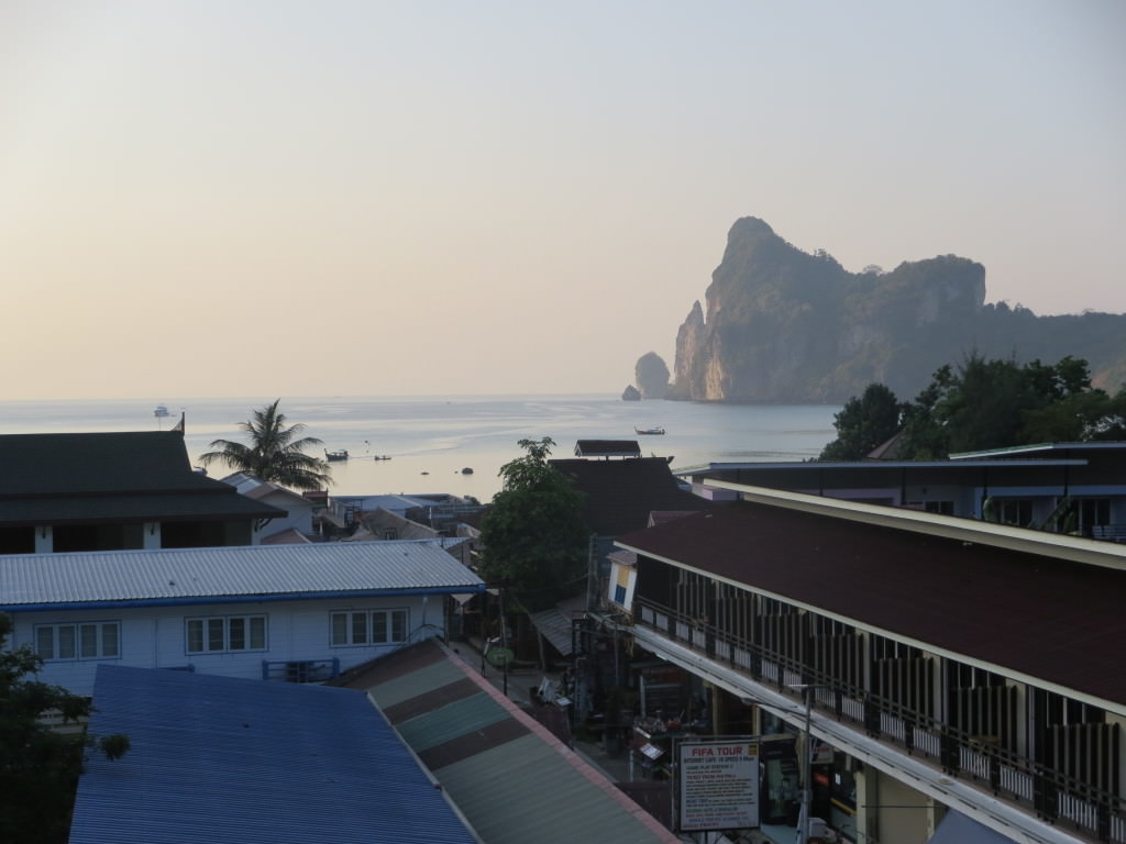 view from Banana Bar Phi Phi Don Thailand 497