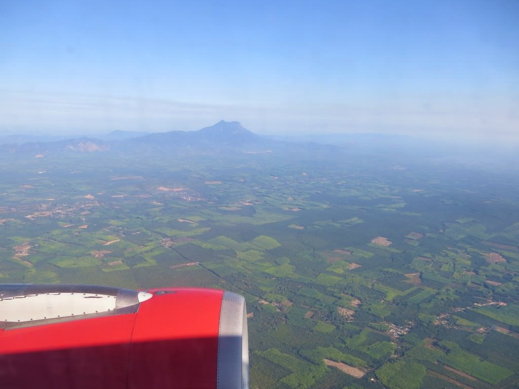 Flying out of Krabi