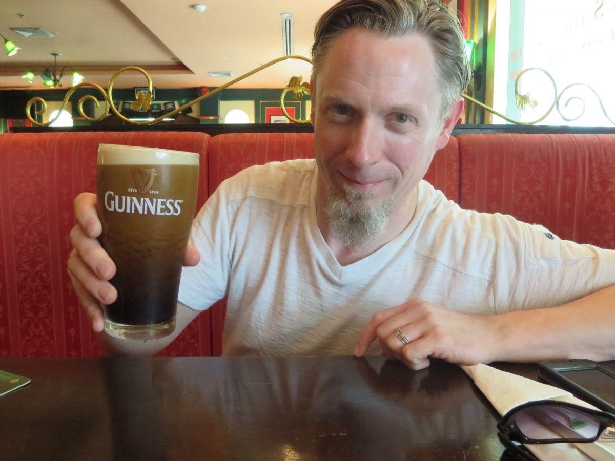 St. Paddy's Day Guinness at Jameson's Irish Pub, Bangkok, Thailand 669