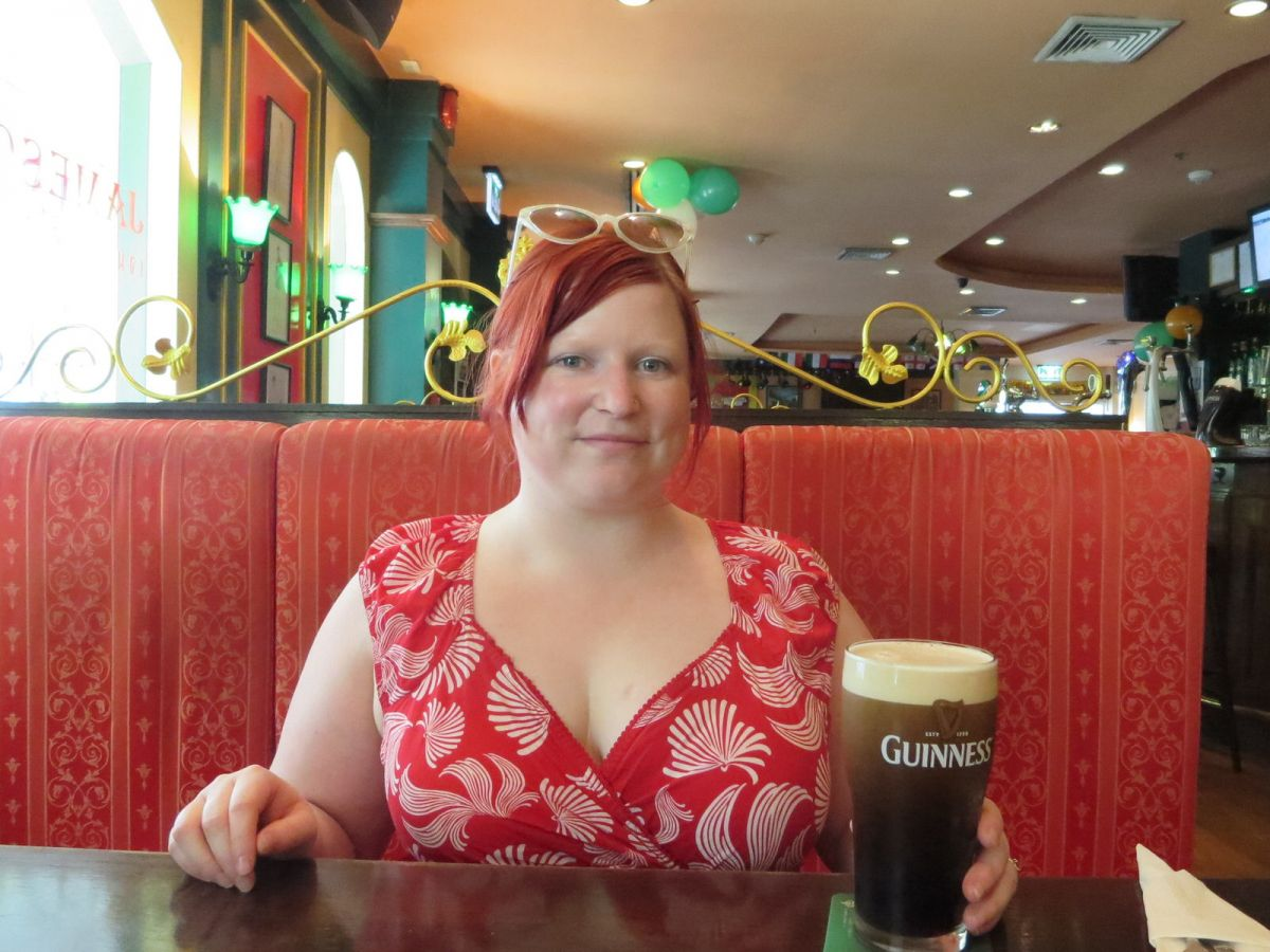 St. Paddy's Day Guinness at Jameson's Irish Pub, Bangkok, Thailand 670