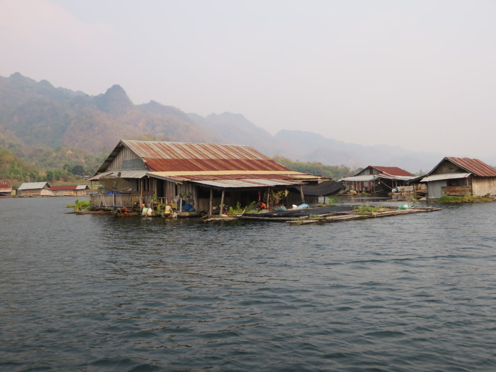 Mon fishing village Thailand