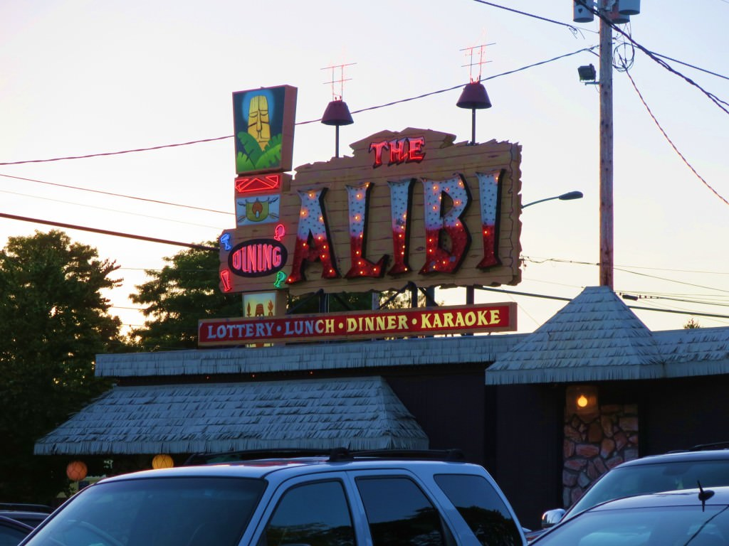 The Alibi tiki bar Portland