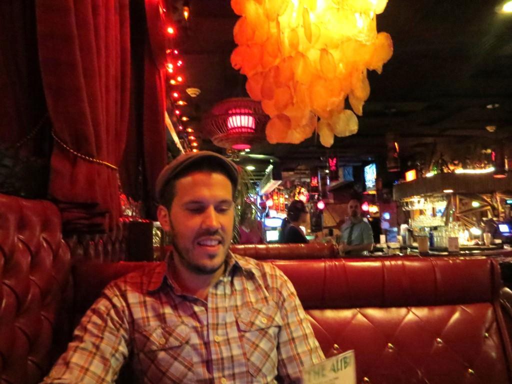 The Alibi tiki bar Portland