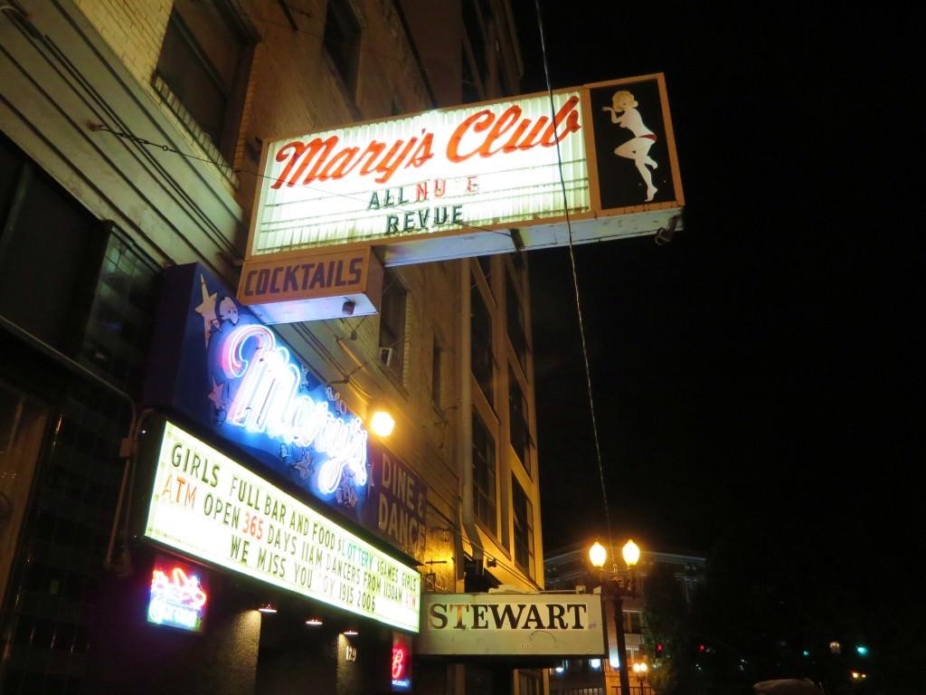 Marys Club Portland