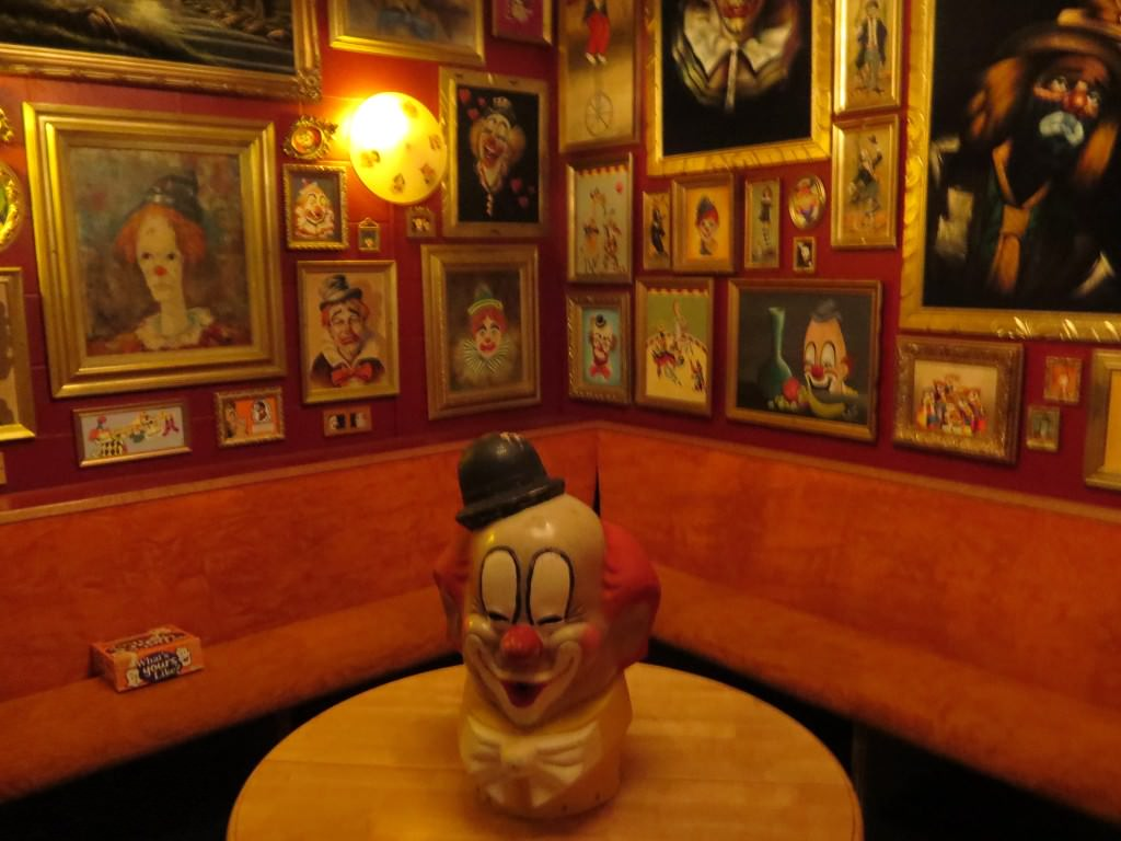 The Clown Room at The Funhouse Lounge