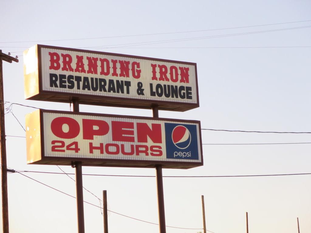 Branding Iron Restaurant Zillah WA