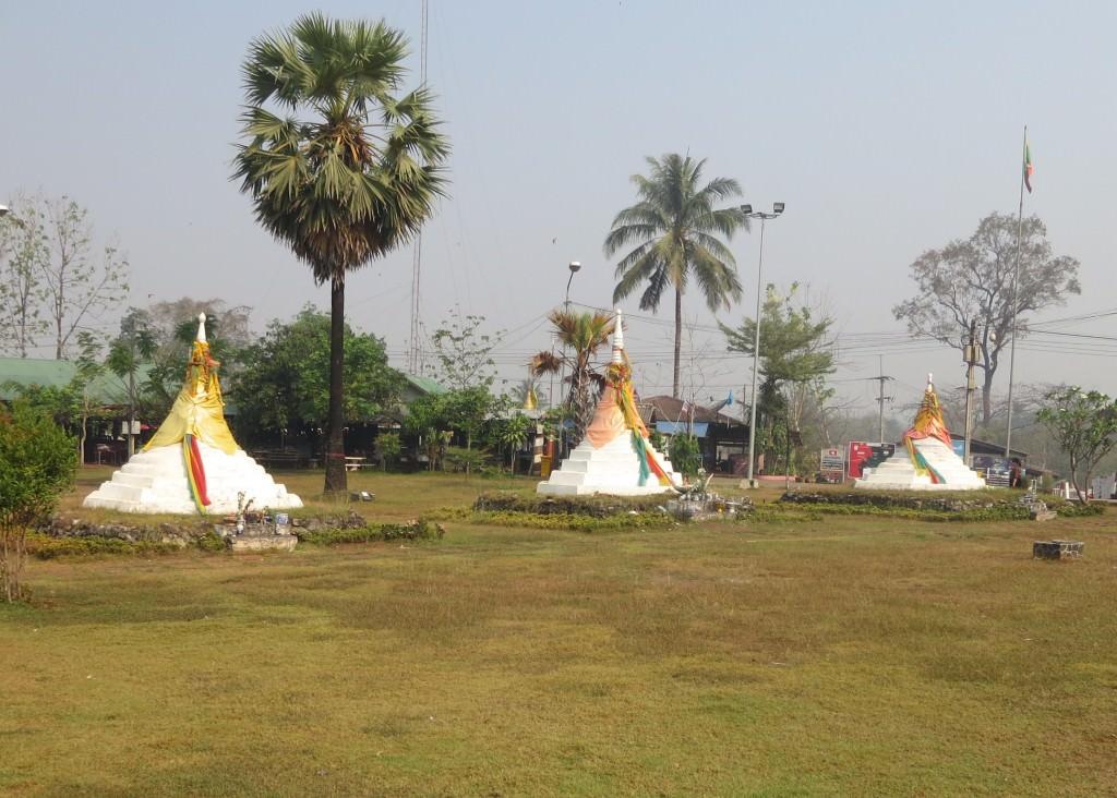 The Three Pagodas--Thai/Myanmar border